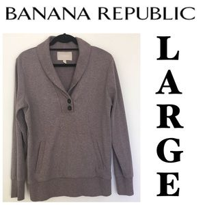 Sz L Banana Republic Sweatshirt